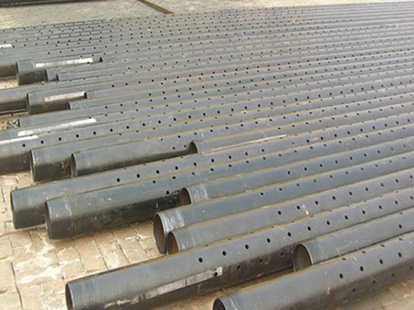 Perforated Liner Base Pipe For Sand Control Screens